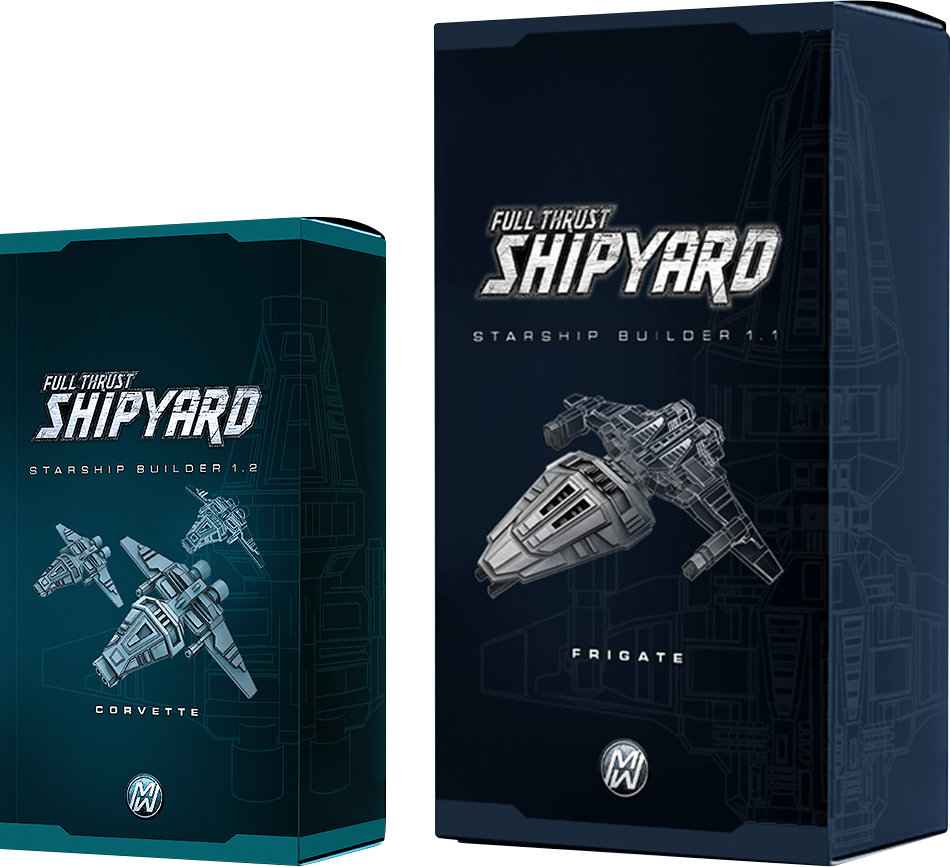 FULL THRUST Shipyard Boxartwork