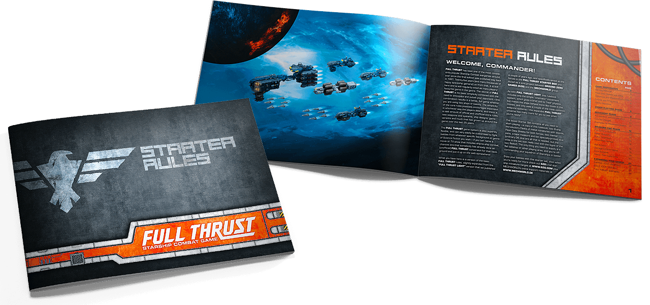 Die FULL THRUST Starter-Rules