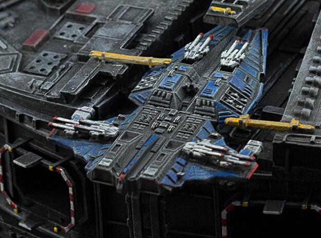 Schlachtkreuzer im Dock