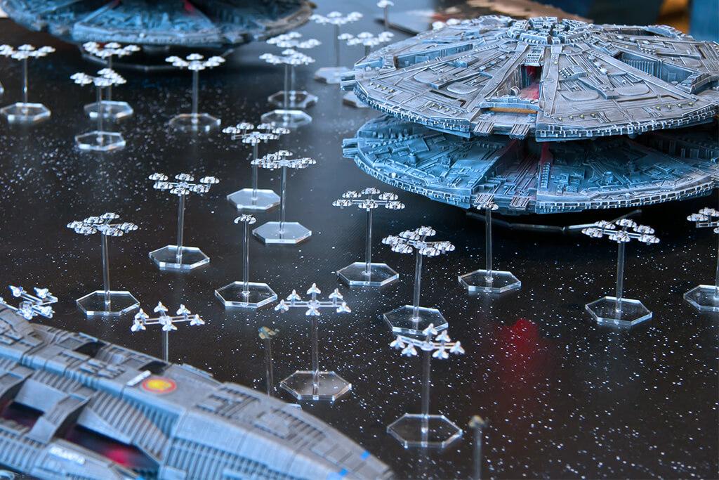Zylonen Flotte