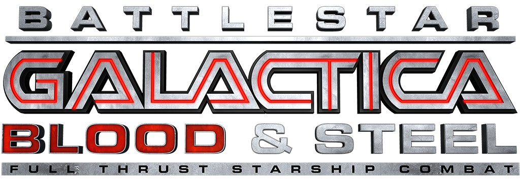 Battlestar Galactia Blood and Steel Logo