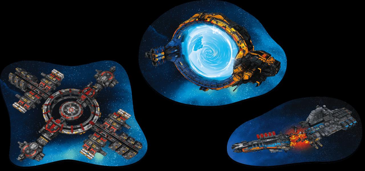 Missionsziele Space-Gelände