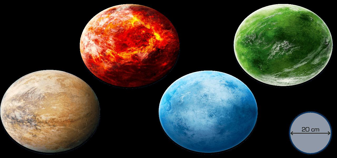 Mechworld Planetensammlung